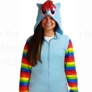 MLP Rainbow Dash Adult Cosplay Union Suit